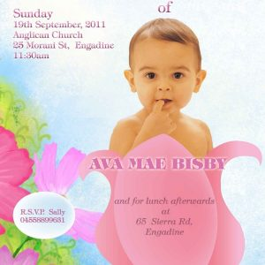 Christening or Naming Ceremony - Girl