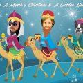 3 Wisemen Funny Christmas card