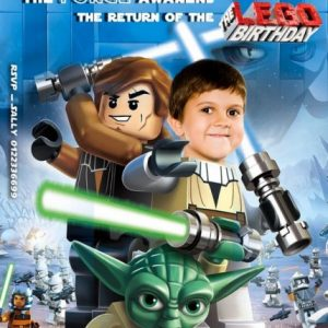 Lego Star Wars Invitation