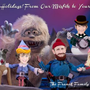 Funny Family Christmas Card