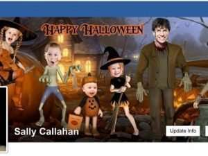 Halloween Family Facebook Cover