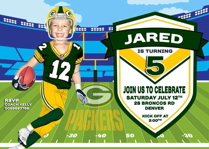 Green Bay Packers Invitation