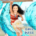 Moana Thank you card