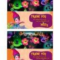 Princess Poppy Party Bag topper
