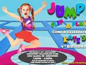 Trampoline Bounce House Birthday Party