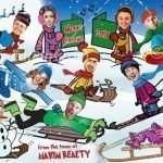 Corporate Caricature Christmas Card