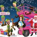 PinkBoots corporate Christmas card