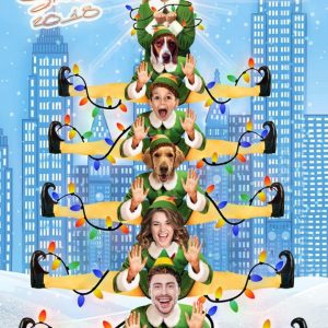 Buddy the Elf Christmas Tree