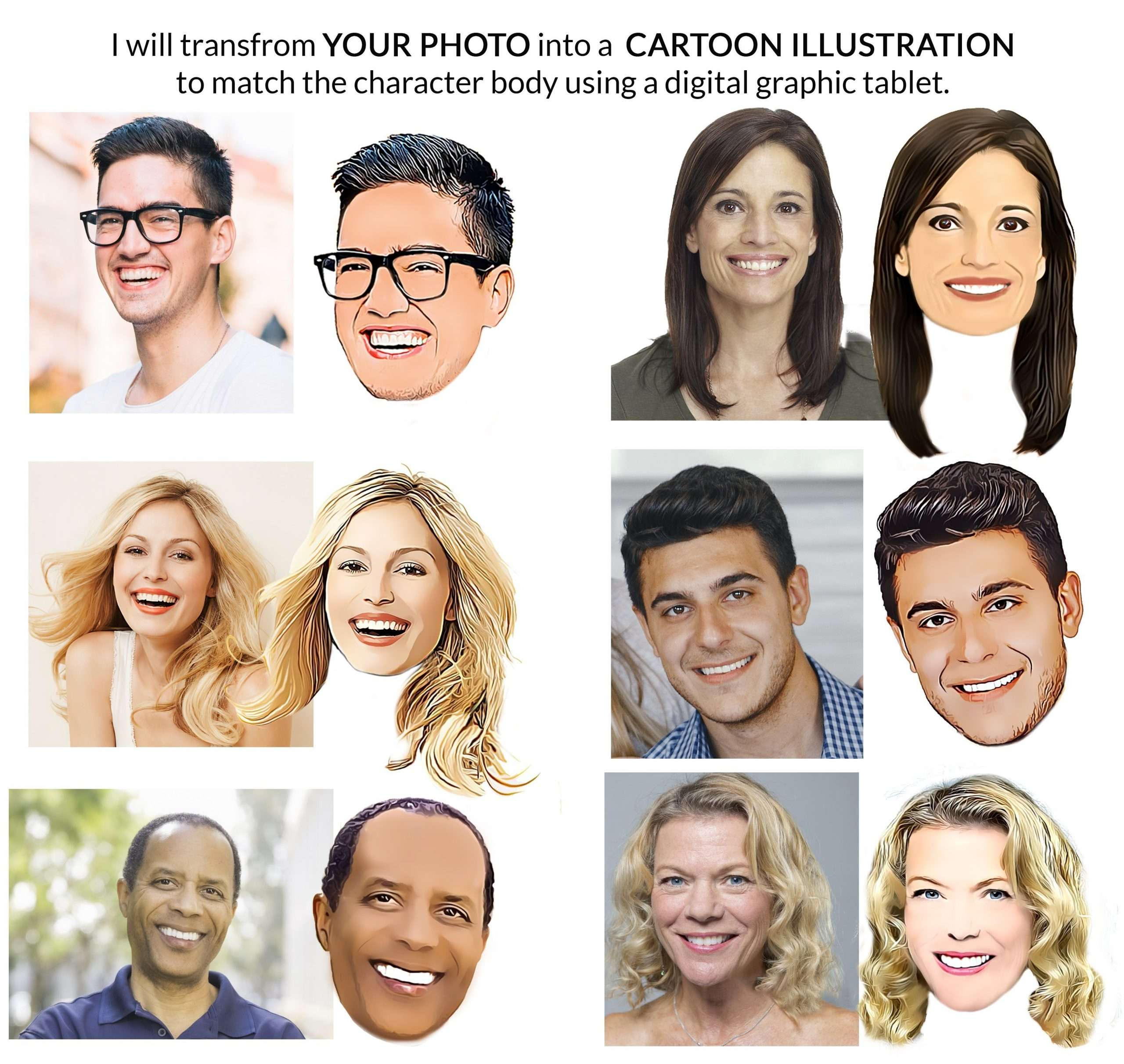 Caricature Faces