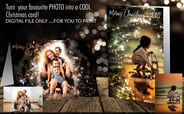 Magical Family Christmas Card