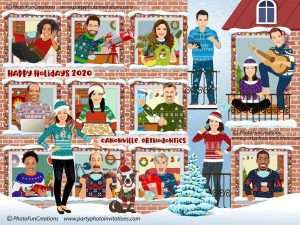 Funny Covid Apartment Christmas Card